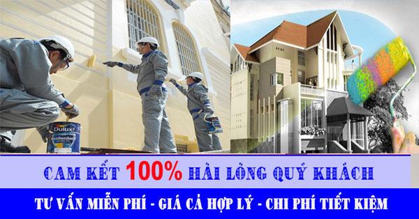 Thợ sơn nhà tại quận 10 chuyên nghiệp