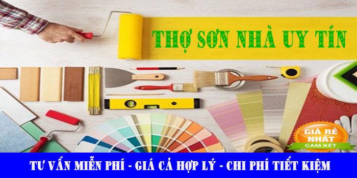 Thợ sơn nhà tại quận 7 uy tín