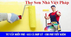 Thợ sơn nhà tại quận bình tân chuyên nghiệp