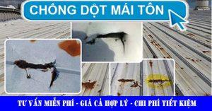 Chống dột mái tôn - xử lý chống dột mái tôn triệt để