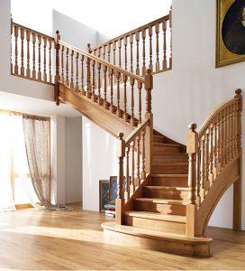 Dịch vụ sơn cầu thang gỗ
