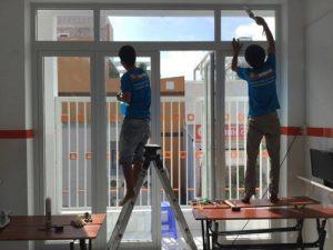 Sửa cửa nhôm kính