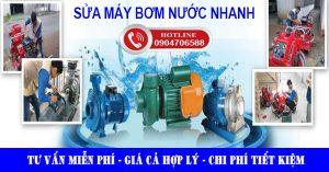 Sửa máy bơm nước nhanh giá rẻ
