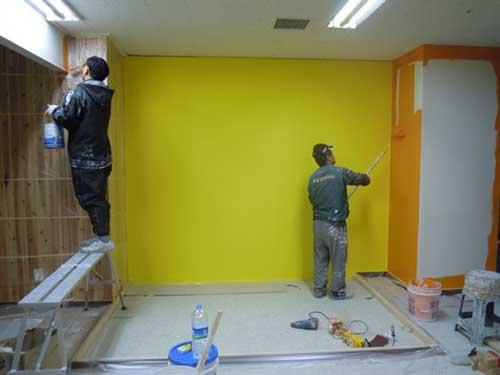 Báo giá dịch vụ sơn tường