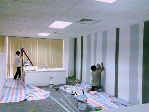 dịch vụ sơn sửa chữa văn phòng
