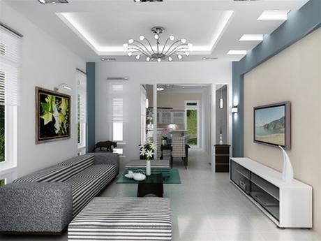 Bí quyết chọn màu sắc khi sơn nhà