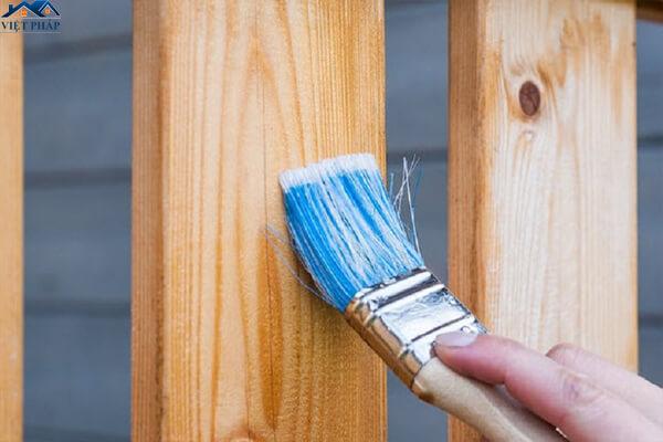 Sơn lại đồ gỗ một cách đơn giản - bền đẹp như mới