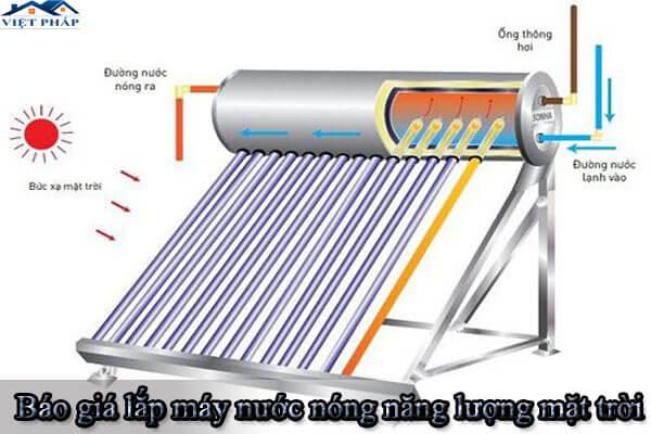 Báo giá lắp máy nước nóng năng lượng mặt trời tại TP.HCM